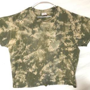 Custom dyed Nike T-shirt